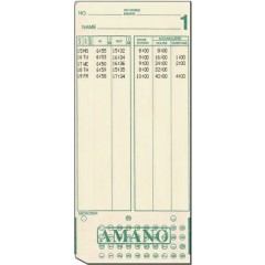 MJR-8500 Time Cards (QTY:1000)