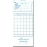 QR-120BW Fortnightly Time Cards (QTY:1000)