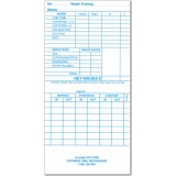 KP-210W Weekly Time Cards      (QTY:1000)